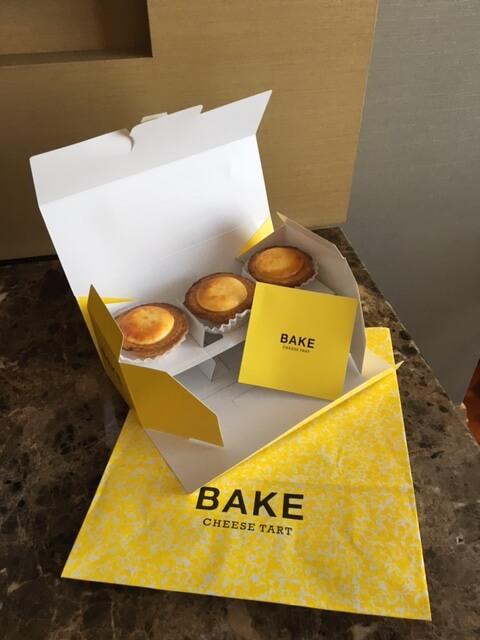 BAKEのCHEESE TART